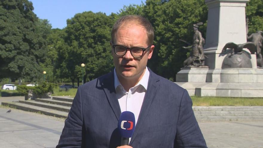 Video Studio ČT24: Zpravodaj Lukáš Mathé k dopadům těžby v polském dole Turów