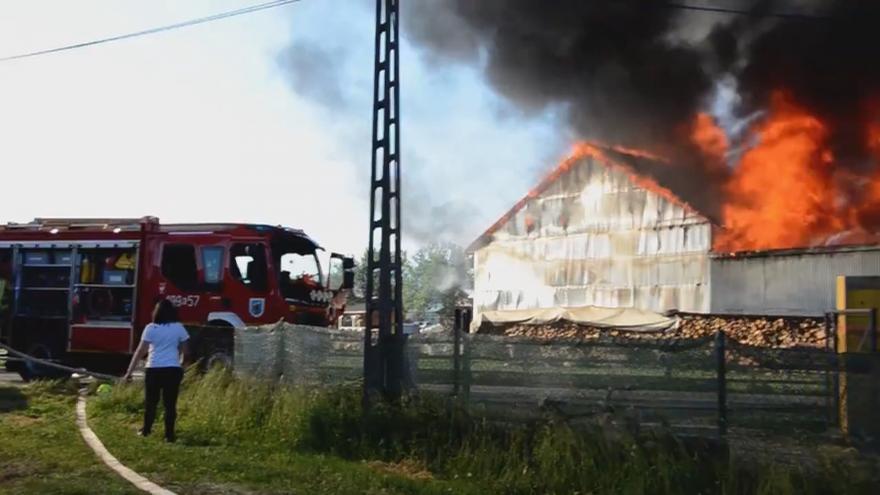 Video Události: Požár v Polsku