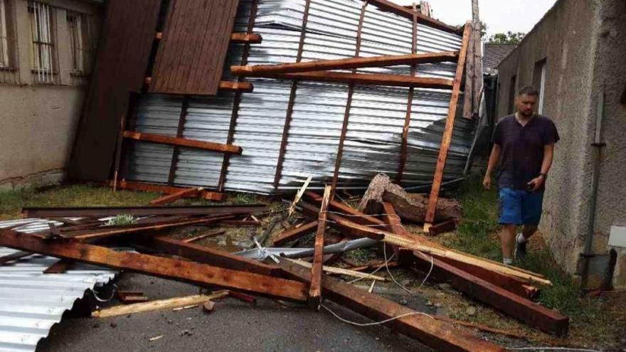 Video Události: Česko zasáhly bouřky
