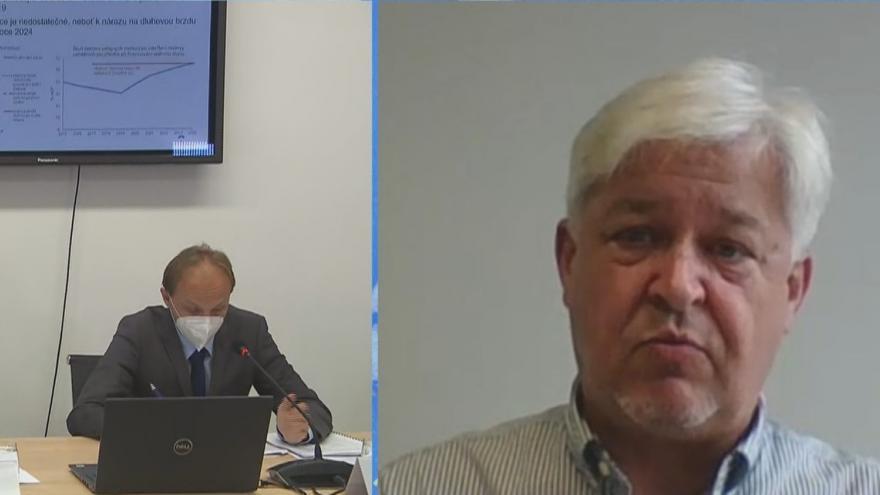 Video Ekonomický analytik Miroslav Zámečník k závěrům Národní rozpočtové rady