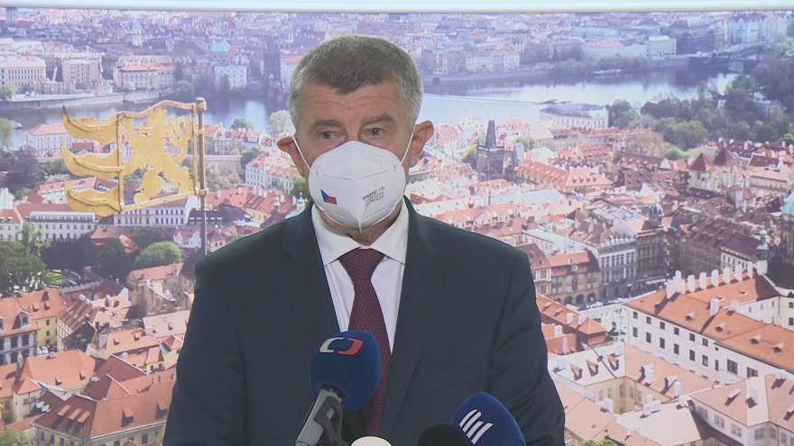 Video Brífink premiéra Andreje Babiše před začátkem summitu EU v Bruselu
