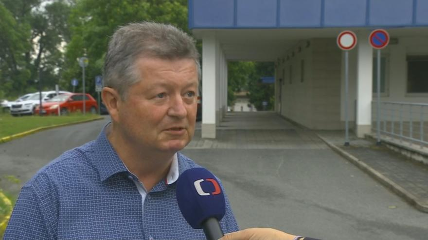 Video Ředitel hodonínské nemocnice Antonín Tesařík o stavu pacientů zraněných při tornádu