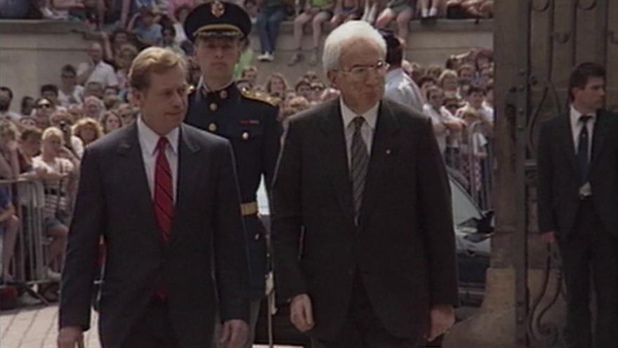 Video Československo navštívil italský prezident Francesco Cossiga