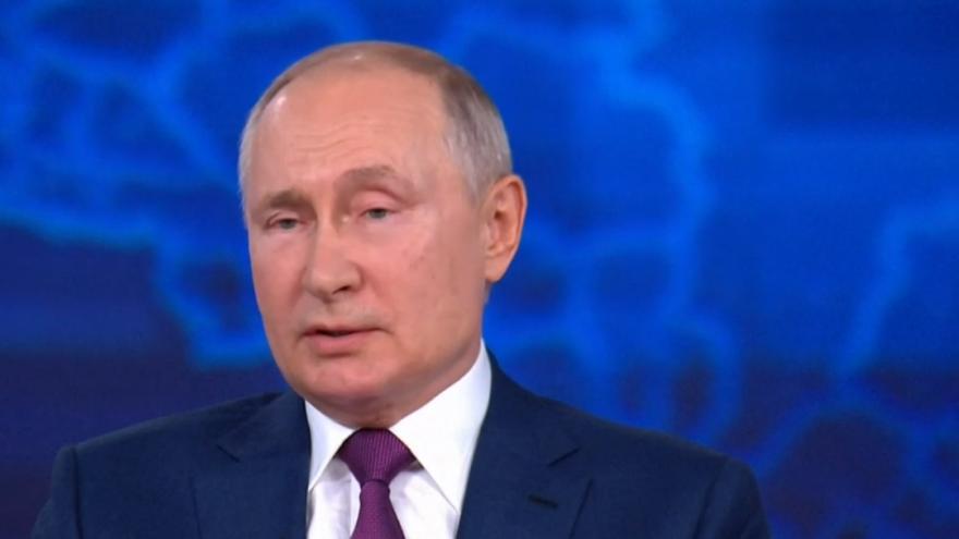 Video Výroční tisková konference ruského prezidenta Vladimira Putina 2021