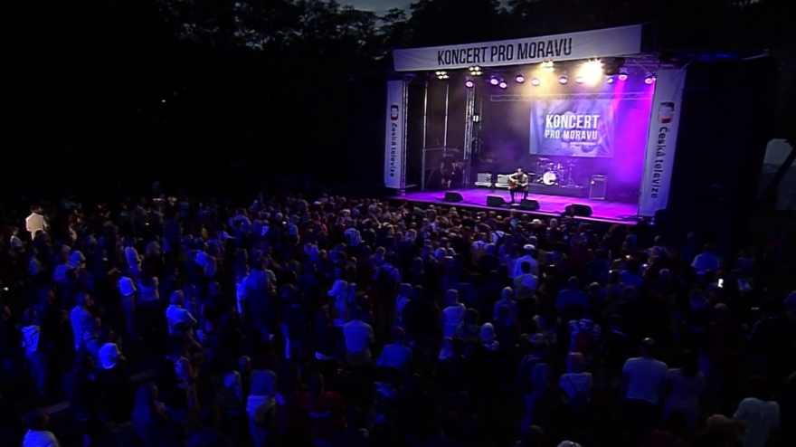 Video Koncert pro Moravu