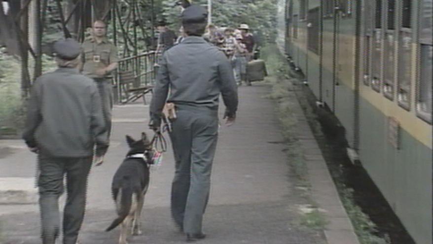 Video Obecní policie v Srbsku