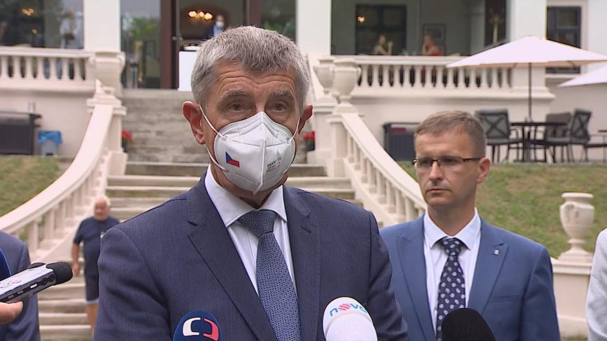 Video Brífink premiéra Andreje Babiše po návštěvě Zlínského kraje