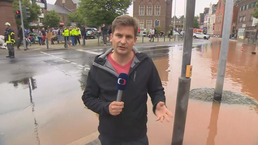 Video Zpravodaj Lukáš Dolanský k tragickým povodním v Německu