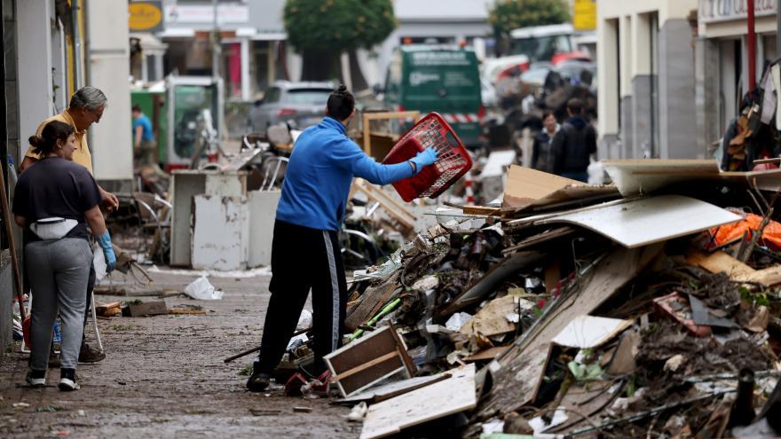 Video 90' ČT24 - Tragické záplavy v Německu