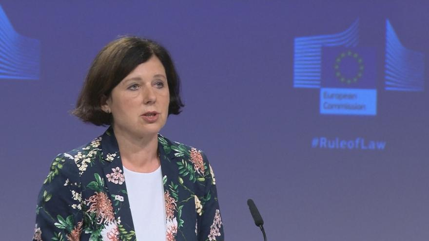 Video Brífink Evropské komise o stavu právního státu v zemích unie