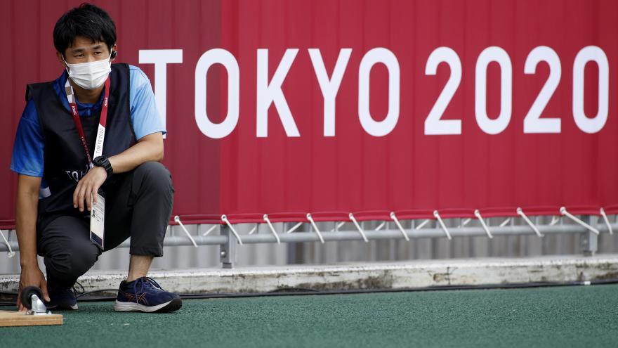 Video Studio ČT24: Zpravodajka ČT Barbora Šámalová z dějiště olympijských her v Tokiu