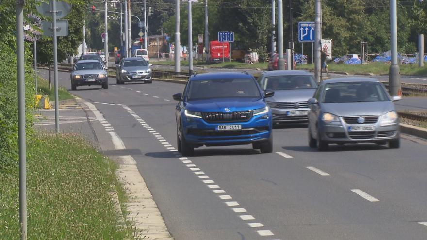 Video Události: Zmatky v jízdních pruzích