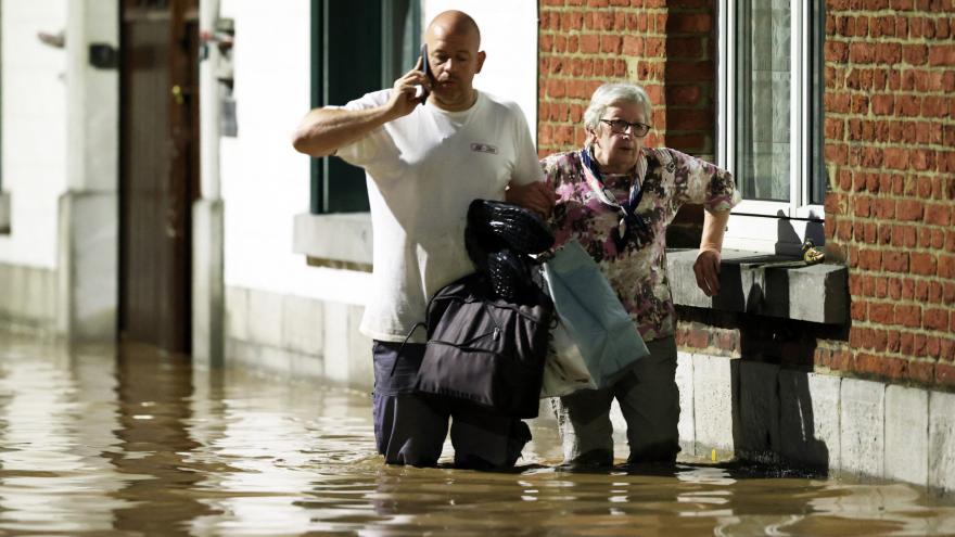 Video Události: Záplavy v Belgii