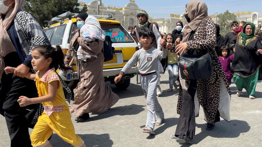 Video Chaos a strach v Afghánistánu