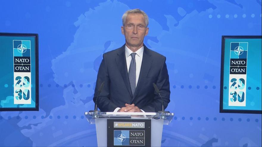 Video Brífink NATO k situaci v Afghánistánu