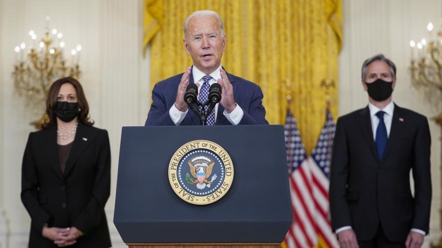 Video Prezident Spojených států Joe Biden o vývoji v Afghánistánu