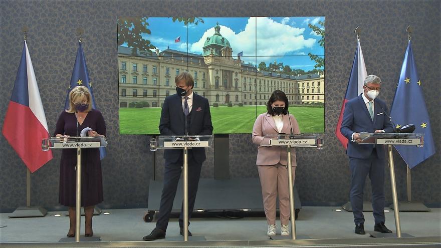 Video Brífink po jednání vlády 23. srpna