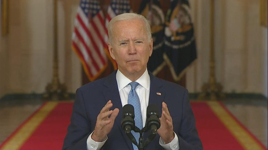 Video Prezident Spojených států Biden o odchodu armády z Afghánistánu