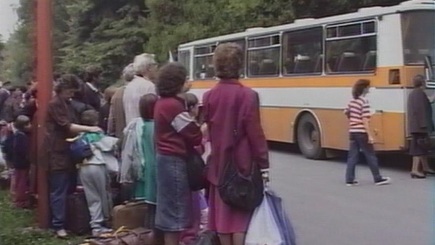 Video Pomoc krajanům v Chorvatsku