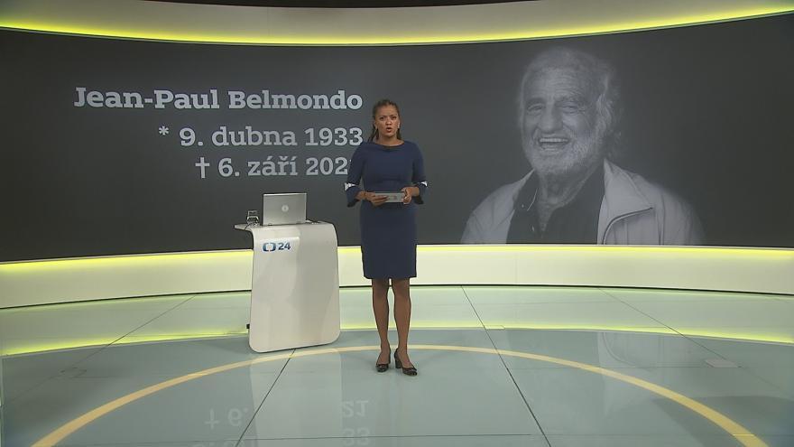 Video 90' ČT24 - Vzpomínka na Jeana Paula Belmonda