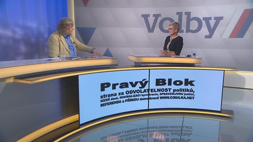 Video Volební lídr Volte Pravý blok www.cibulka.cz Petr Cibulka v Událostech, komentářích