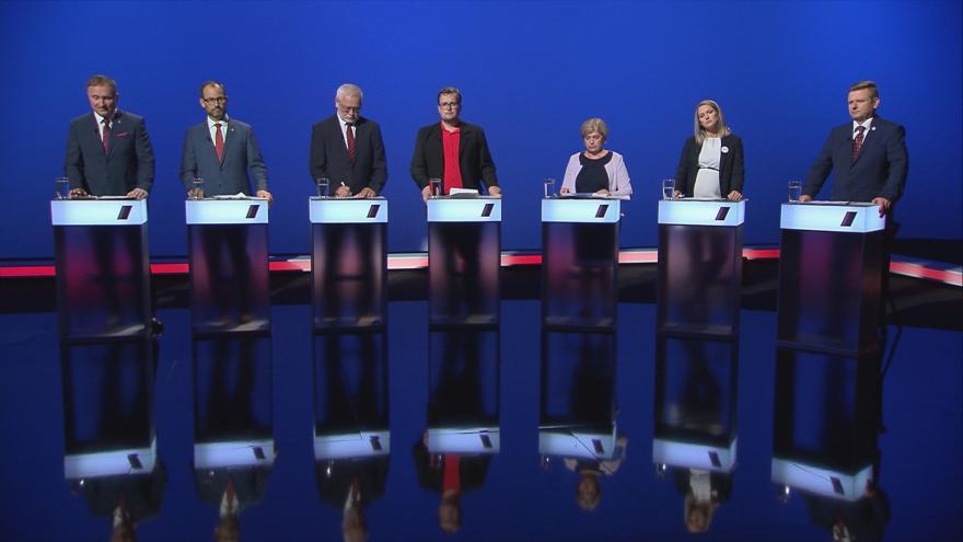 Video Předvolební debata ČT24: lídři Libereckého kraje