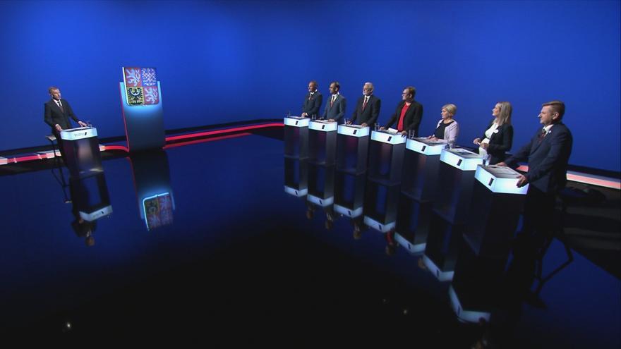 Video Lídři z Libereckého kraje o ekonomických otázkách v předvolební debatě ČT24