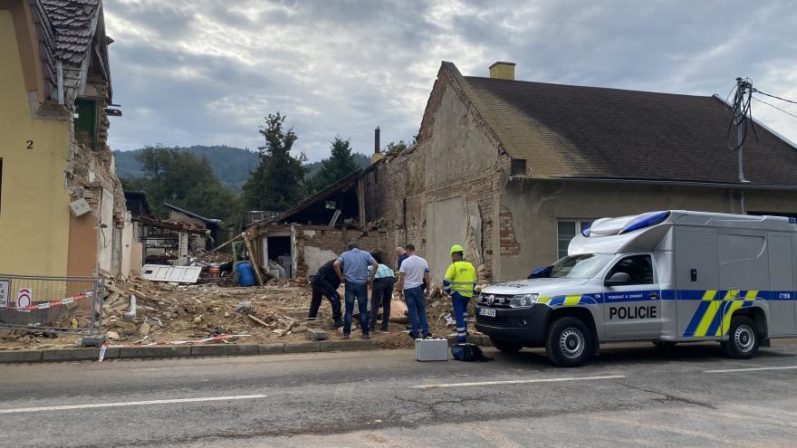 Video Události: Vyšetřování výbuchu v Koryčanech