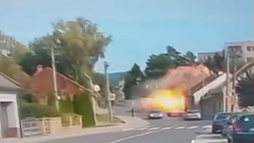 Video Výbuch v Koryčanech