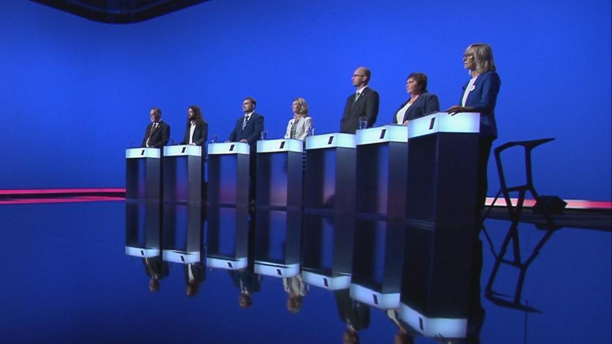 Video Lídři Pardubického kraje o korupci v předvolební debatě ČT24