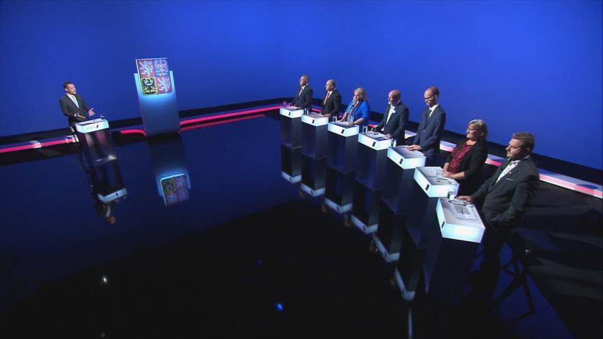Video Lídři Královéhradeckého kraje o kauze Bečva v předvolební debatě ČT24