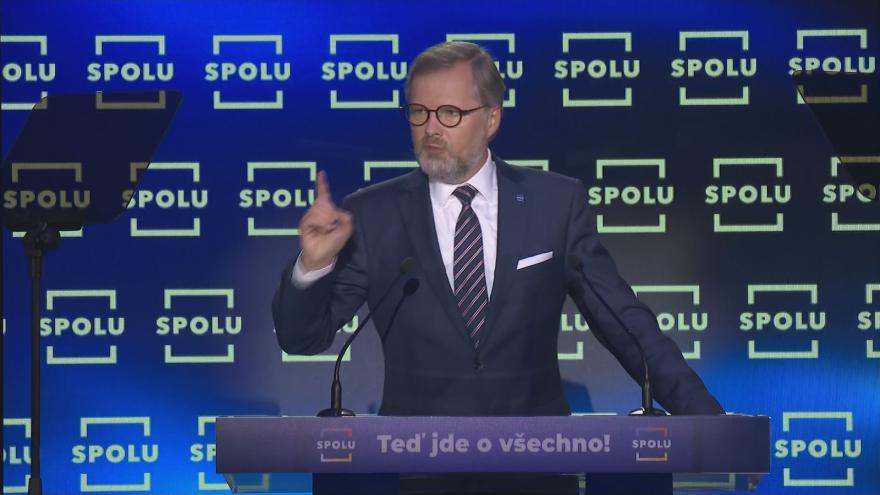 Video Zahájení horké fáze kampaně koalice SPOLU