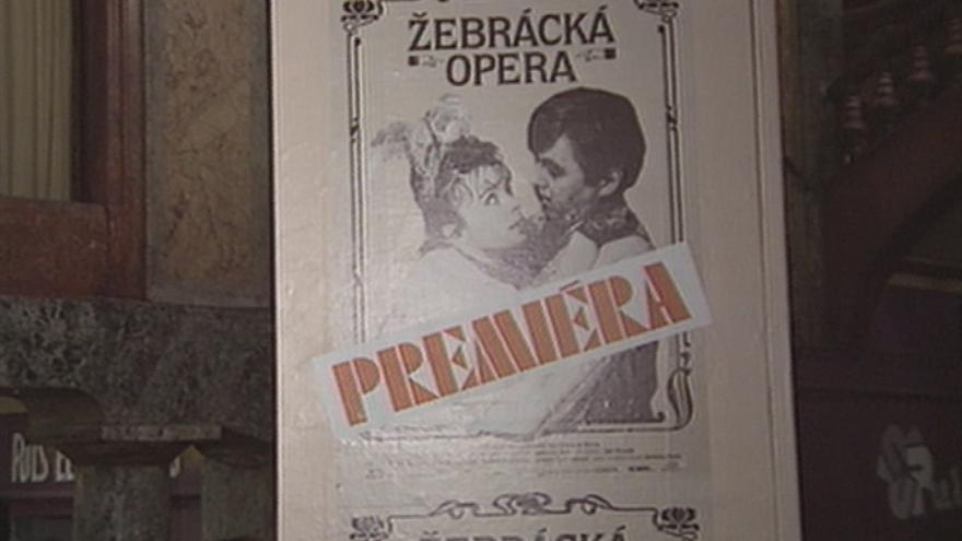 Video Premiéra filmu Žebrácká opera