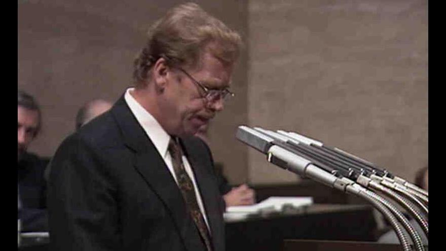 Video Varování Václava Havla před koncem Československa