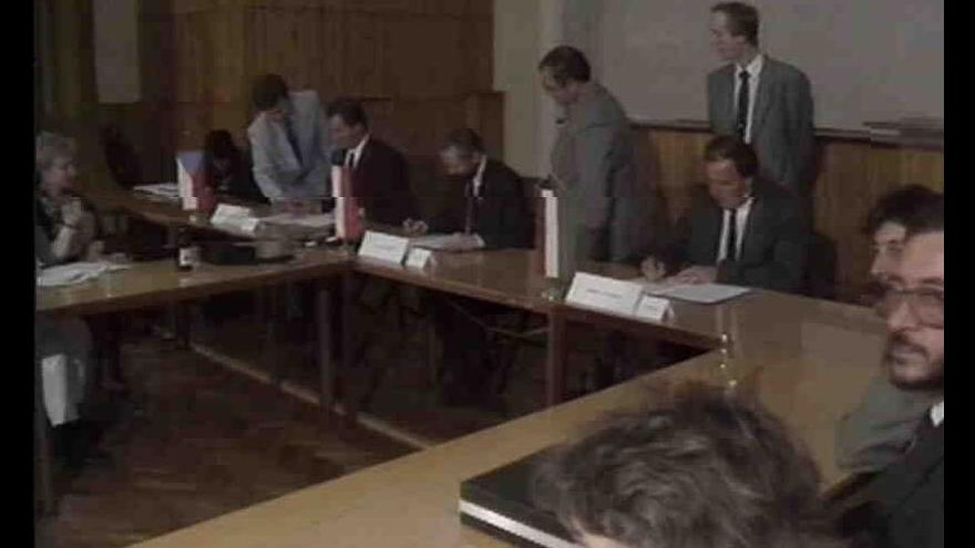 Video Schůze ministrů práce a sociálních věcí Visegrádské trojky
