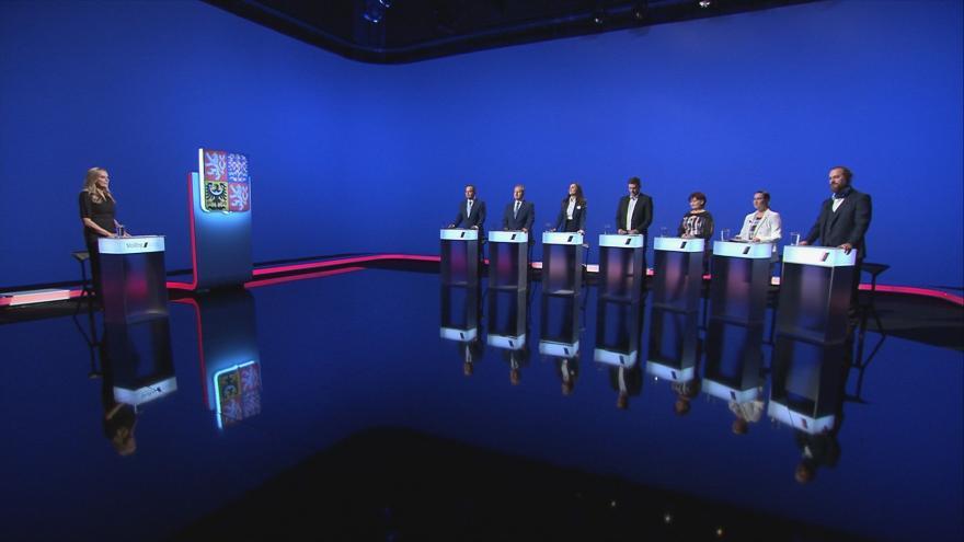 Video Volební lídři Jihočeského kraje diskutovali o kauze Vrbětice v předvolební debatě ČT24