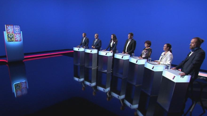 Video Lídři Jihočeského kraje řešili ekonomiku v předvolební debatě ČT24