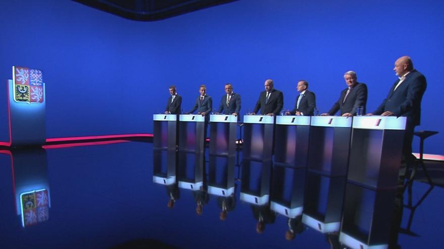 Video Volební lídři Ústeckého kraje řešili v předvolební debatě ČT24 kvalitu života v regionu