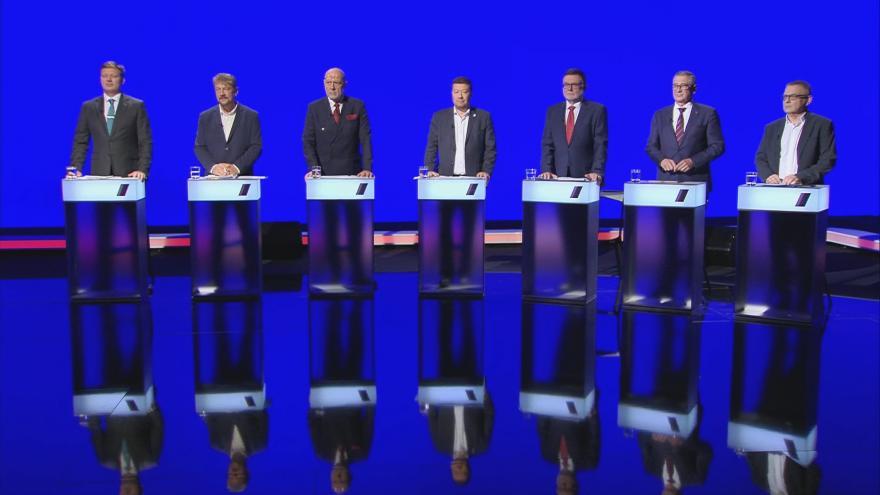 Video Lídři Moravskoslezského kraje řešili v předvolební debatě ČT24 téma korupce