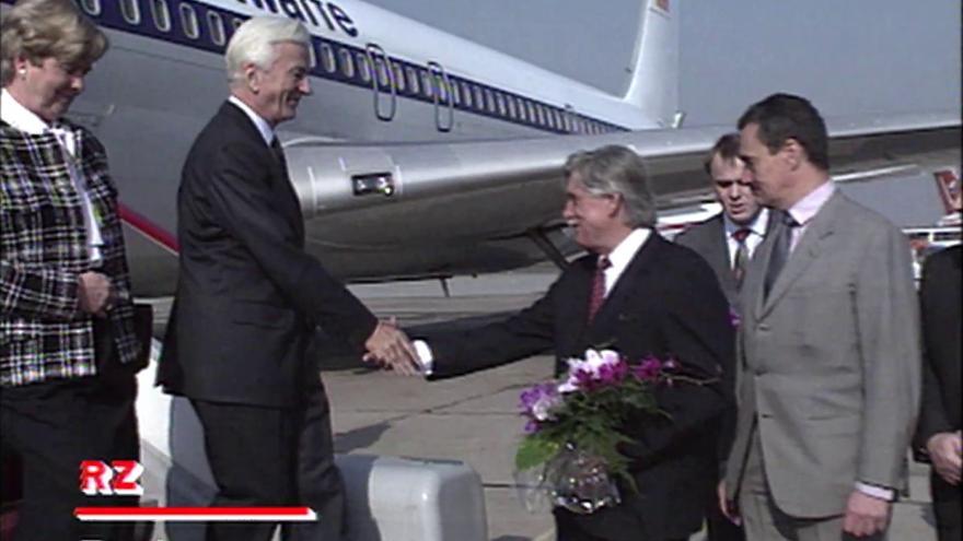 Video Další posílení československo-německých vztahů