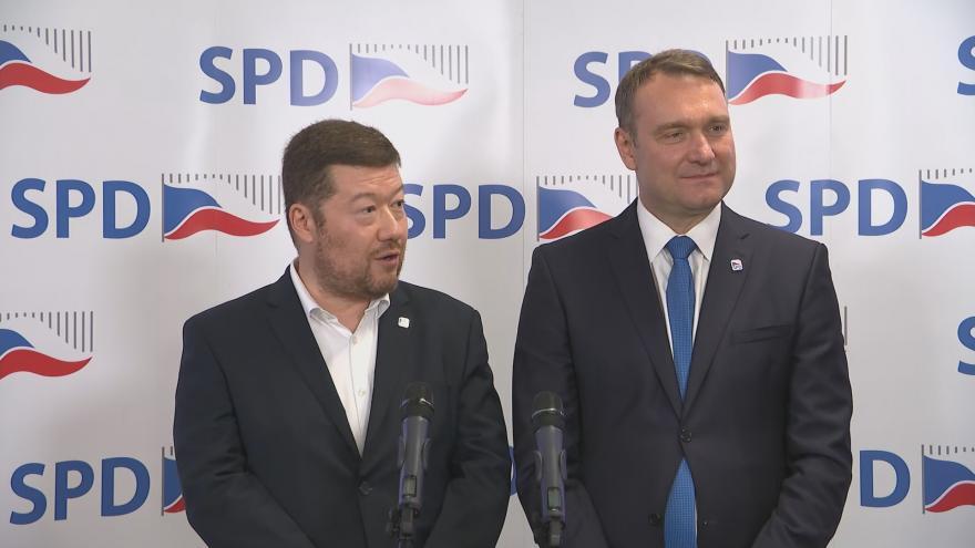 Video Okamura: Hlasování potvrzuje, že SPD má stabilní voličskou základnu