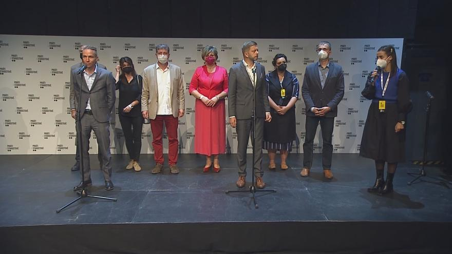 Video Koalice PirátiSTAN k výsledkům parlamentních voleb