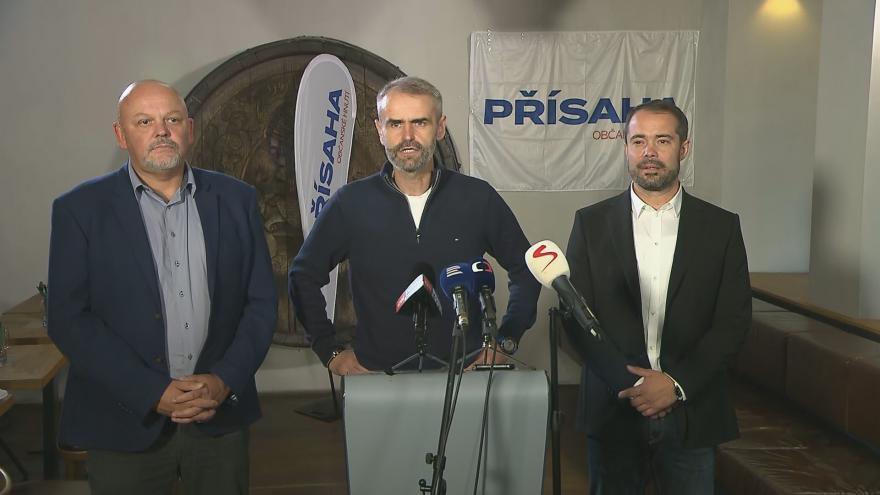 Video Výsledky voleb jsou podle Šlachty úspěch, Přísaha má podle něj vůči svým voličům velký závazek