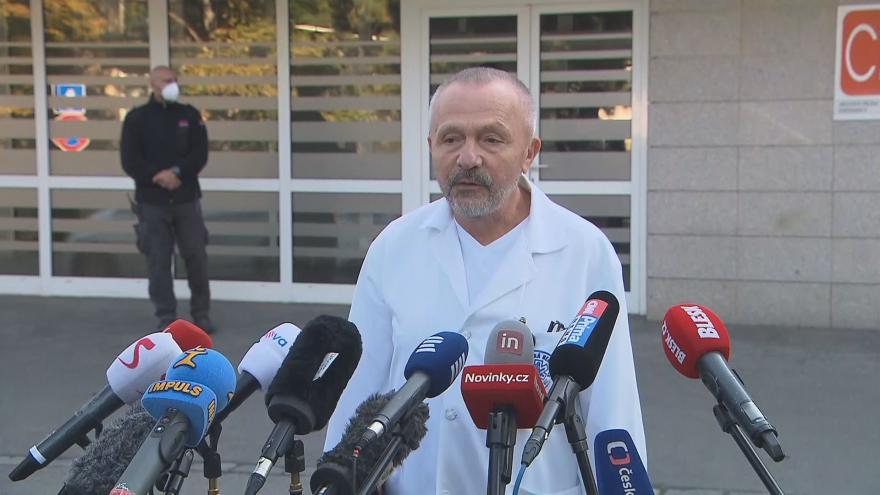 Video Tisková konference k hospitalizaci prezidenta Miloše Zemana