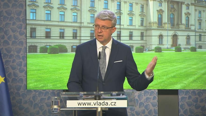 Video Tisková konference po jednání vlády z 11. října