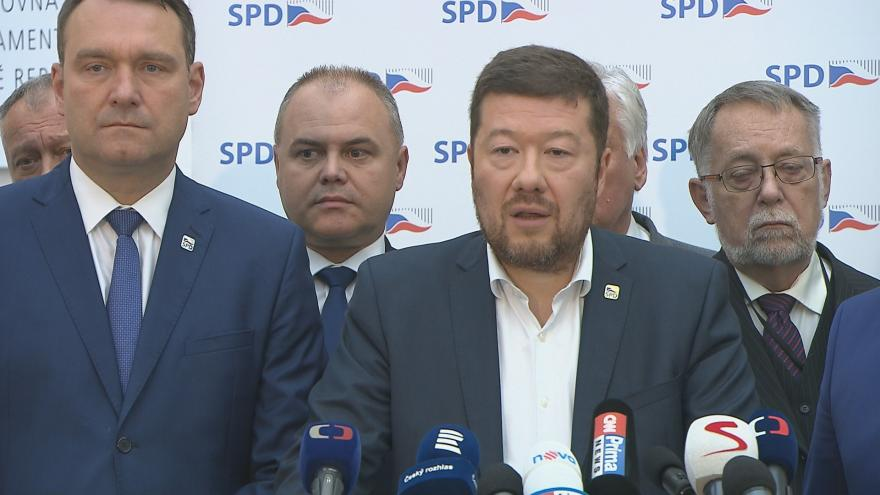 Video Brífink poslaneckého klubu SPD