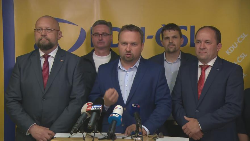 Video Brífink poslaneckého klubu KDU-ČSL