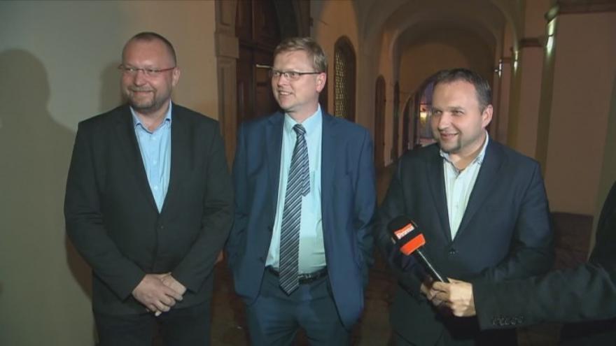 Video Tisková konference KDU-ČSL po jednání s ANO