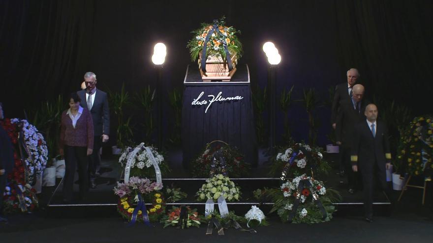 Video Mimořádné pořady ČT24 - Poslední rozloučení s Luďkem Munzarem