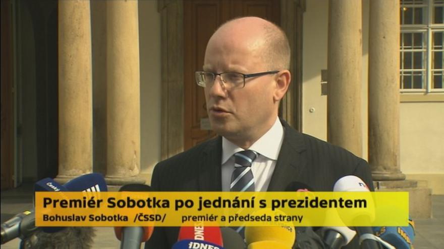 Video Sobotka: Babiš by měl upřednostnil zájmy republiky před svými
